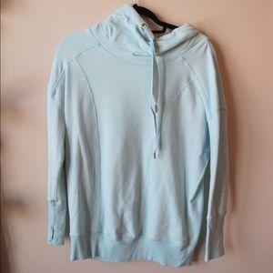 Light Blue Zella Workout Sweatshirt